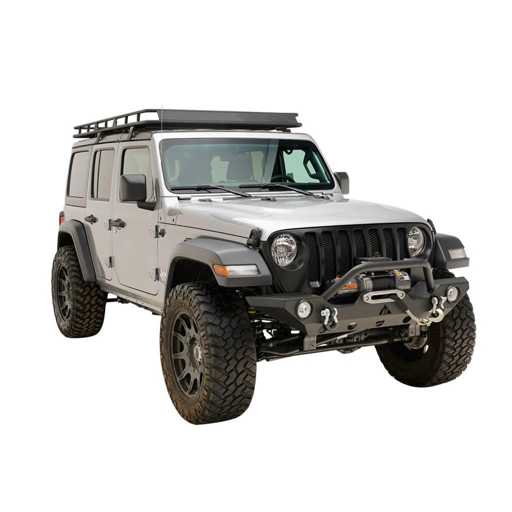 On Sale: Jeep Wrangler 2019 JL Premium Front Bumper (Matte