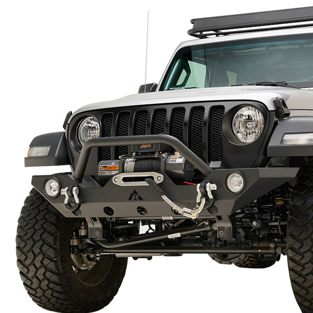 Jeep Wrangler Fog Lights >> On Sale Jeep Wrangler 2019 Jl Premium Front Bumper Matte Black Incl Fog Lights Jeep Wrangler Front Bumpers Jeep Wrangler Offroad Accessories