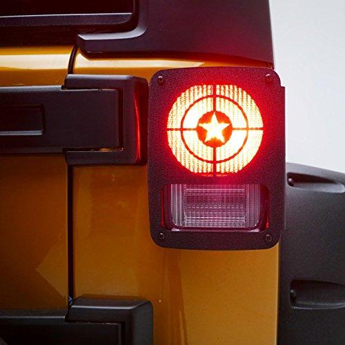 Brisbane Lighting Warehouse Underwood: Buy Captain America Tail Light Cover Light Guard (Pair