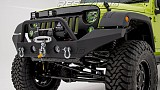 Jeep Wrangler JK JW0292 Style Steel Front Winch Bull Bar