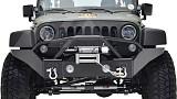 Jeep Wrangler JK JW0350 Style Steel Front Winch Bull Bar