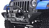 Jeep Wrangler JK JW0265 Style Steel Front Winch Bull Bar