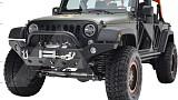 Jeep Wrangler JK JW0294 Style Steel Front Winch Bull Bar