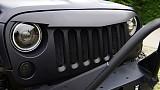Jeep Wrangler JK Angry Bird Grille V-Shape Matte Black with Mesh