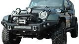 Jeep Wrangler JK JW0303 Style Steel Front Winch Bull Bar
