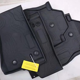 Image of a Jeep Wrangler Jeep Wrangler 2019~ JL 2 Door Floor Mat