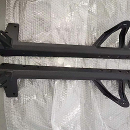 Image of a Jeep Wrangler Jeep  Wrangler JK 50 inch Mounting Double Brackets for LED lights bar
