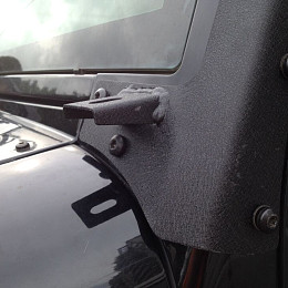 Image of a Jeep Wrangler Jeep  Wrangler JK 50 inch windscreen brackets - with A holder
