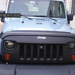 Image of a Jeep Wrangler Jeep Wrangler JK  Body Wrmor Hood Stone Guard J193