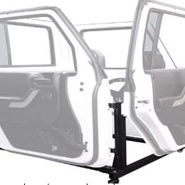 Image of a Jeep Wrangler Jeep Wrangler  JK Half door bracket