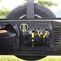 Image of a Jeep Wrangler Jeep Wrangler JK Tailgate Storage Bag  J323