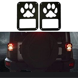 Image of a Jeep Wrangler Jeep  Wrangler JK Taillight guard (Jeep grille)