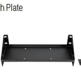 Image of a Jeep Wrangler Jeep Wrangler JK winch plate