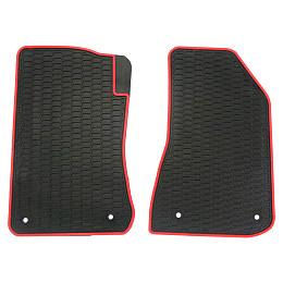 Image of a Jeep Wrangler Jeep Wrangler  JL 4Door Floor Mat Car Floor Rubber Mat