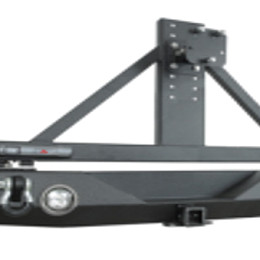 Image of a Jeep Wrangler Jeep  Wrangler JL rear bumper with spare tire carrier