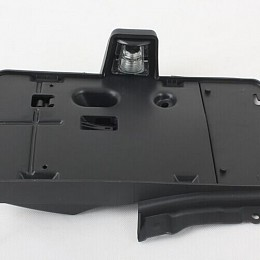 Image of a Jeep Wrangler  Rear License Plate Holder Frame