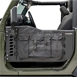 Image of a Jeep Wrangler 2 Door Tubular Doors With Mirror and pocket