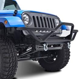 Image of a Jeep Wrangler JW0238 JK Rock Crawler Tubular Front Bumper