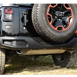 Image of a Jeep Wrangler  10th Anniversary Style rear bumper bar