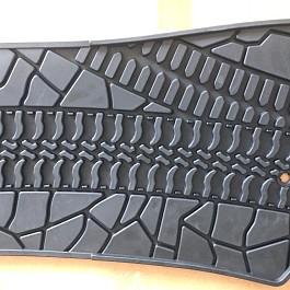 Image of a Jeep Wrangler Jeep Wrangler JK Floor Mats  for 4-Door Wrangler 07-15