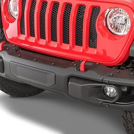 Image of a Jeep Wrangler Jeep Wrangler JL 0023 Mopar Rubicon Style Steel Front Bumper