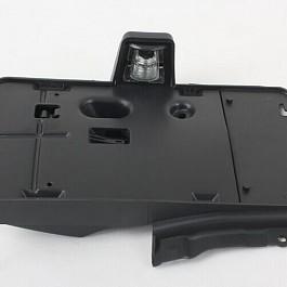 Image of a Jeep Wrangler  Rear License Plate Holder Frame