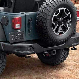 Image of a Jeep Wrangler 10th Anniversary Style Rear Offroad Bumper J087-2