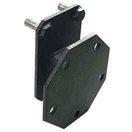 Image of a Jeep Wrangler Spare Tire Relocation Mounting Bracket