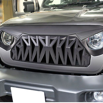 Image of a Jeep Wrangler Angry Grilles Jeep Wrangler JL  Angry Grille JL1111