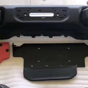 Image of a Jeep Wrangler NEW JEEP JL PARTS Jeep Wrangler 2019~ JL 0023 Rubicon Style Front Bull Bar