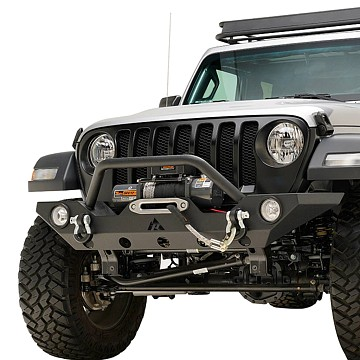 Image of a Jeep Wrangler NEW JEEP JL PARTS Jeep Wrangler 2019~ JL Front Bull Bar