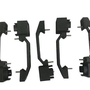 Image of a Jeep Wrangler Accessories Jeep Wrangler  JK 4Door ABS Black Car Door Handle