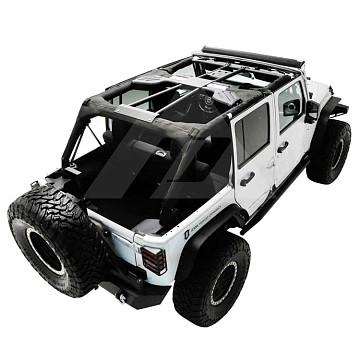 Image of a Jeep Wrangler Body Armor Jeep Wrangler JK  4Door Roll Cage Kit