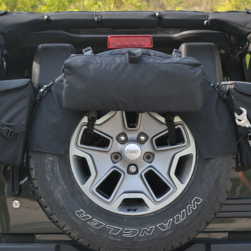 Image of a Jeep Wrangler Accessories Jeep Wrangler JK  Spare Tire Storage Bag J309