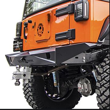 Image of a Jeep Wrangler Rear Bar Jeep  Wrangler JK TF style Rear Bar