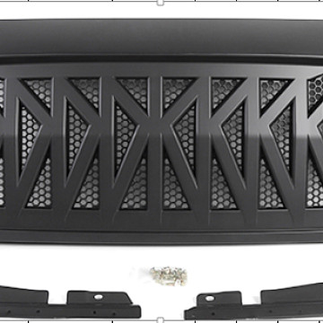 Image of a Jeep Wrangler Angry Grilles Jeep Wrangler JL  Angry Grille  0006