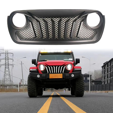 Image of a Jeep Wrangler Angry Grilles Jeep Wrangler JL  Angry Grille JL1071