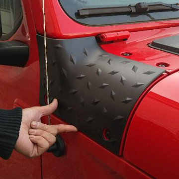 Image of a Jeep Wrangler Accessories Jeep Wrangler  JL Body Armor Outer Cowling Cover