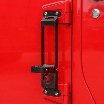Image of a Jeep Wrangler Accessories Jeep Wrangler  JL Foot Peg Support Exterior Car Door Pedal