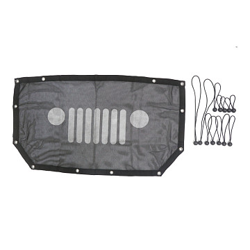 Image of a Jeep Wrangler Accessories Jeep Wrangler  JL Outside Aluminum Foil Shade Net