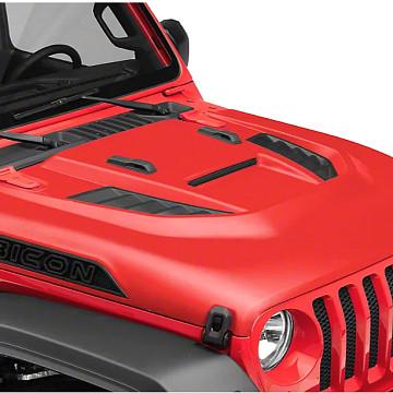 Image of a Jeep Wrangler Bonnets Jeep Wrangler JL   RUBICON style Bonnet