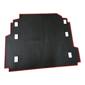 Image of a Jeep Wrangler Accessories Jeep Wrangler  JL Rear Cargo Mat Tray Trunk Mat with Sound Hole