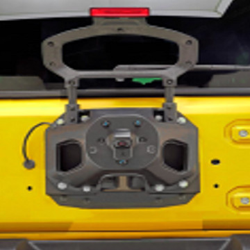 Image of a Jeep Wrangler  Jeep Wrangler JL  Spare tire relocation kit