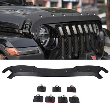 Image of a Jeep Wrangler Accessories Jeep Wrangler JL  hood guard