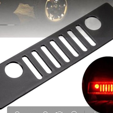 Image of a Jeep Wrangler Accessories Rear Bracket Light Sticker