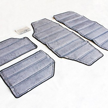 Image of a Jeep Wrangler  2 Door Hardtop HEAT Insulation Kit 4 Pieces