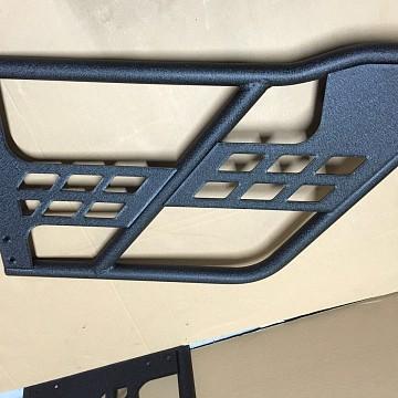 Image of a Jeep Wrangler Half Doors 4 door Tubular Doors without Mirror