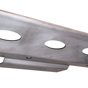 Image of a Jeep Wrangler Brackets PS Style Front Skid Plate Under Cover Engine Guard Board