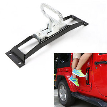 Image of a Jeep Wrangler  Black No during Foot Pedal Side Foot Step