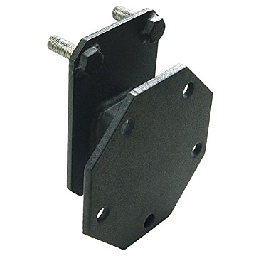 Image of a Jeep Wrangler Brackets Spare Tire Relocation Mounting Bracket